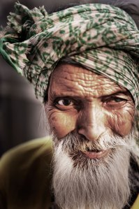 Old religious guy from India