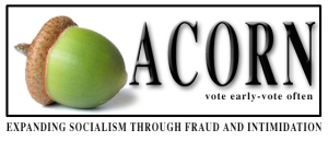 Fake ACORN logo