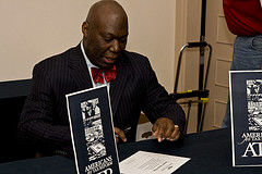 Michael Williams signing pledge
