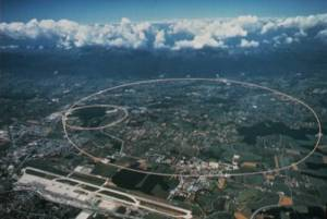 Large Hadron Collider, aerial view