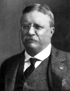 Photo portrait of President Theodore Roosevelt
