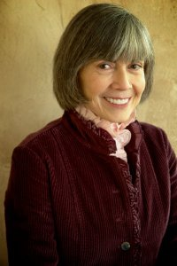 Anne Rice smiling