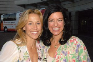 Laurie David & Sheryl Crow