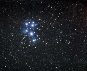 Pleiades constellation